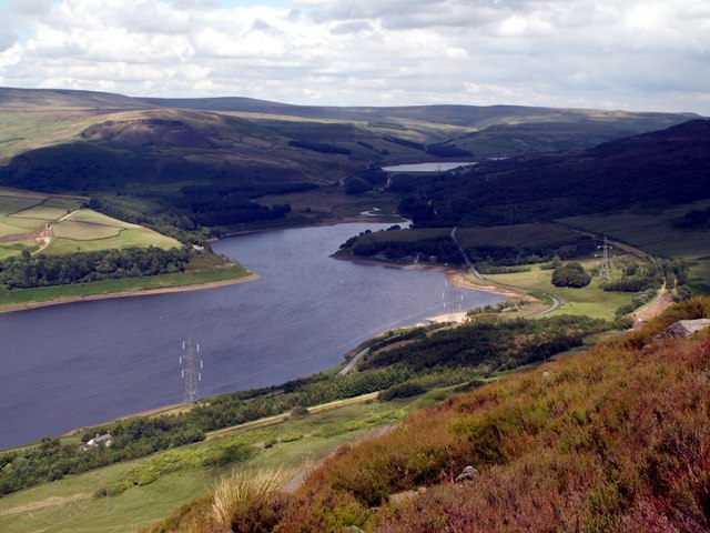 Bramah Edge to Torside Reservoir - geograph.org.uk - 495793