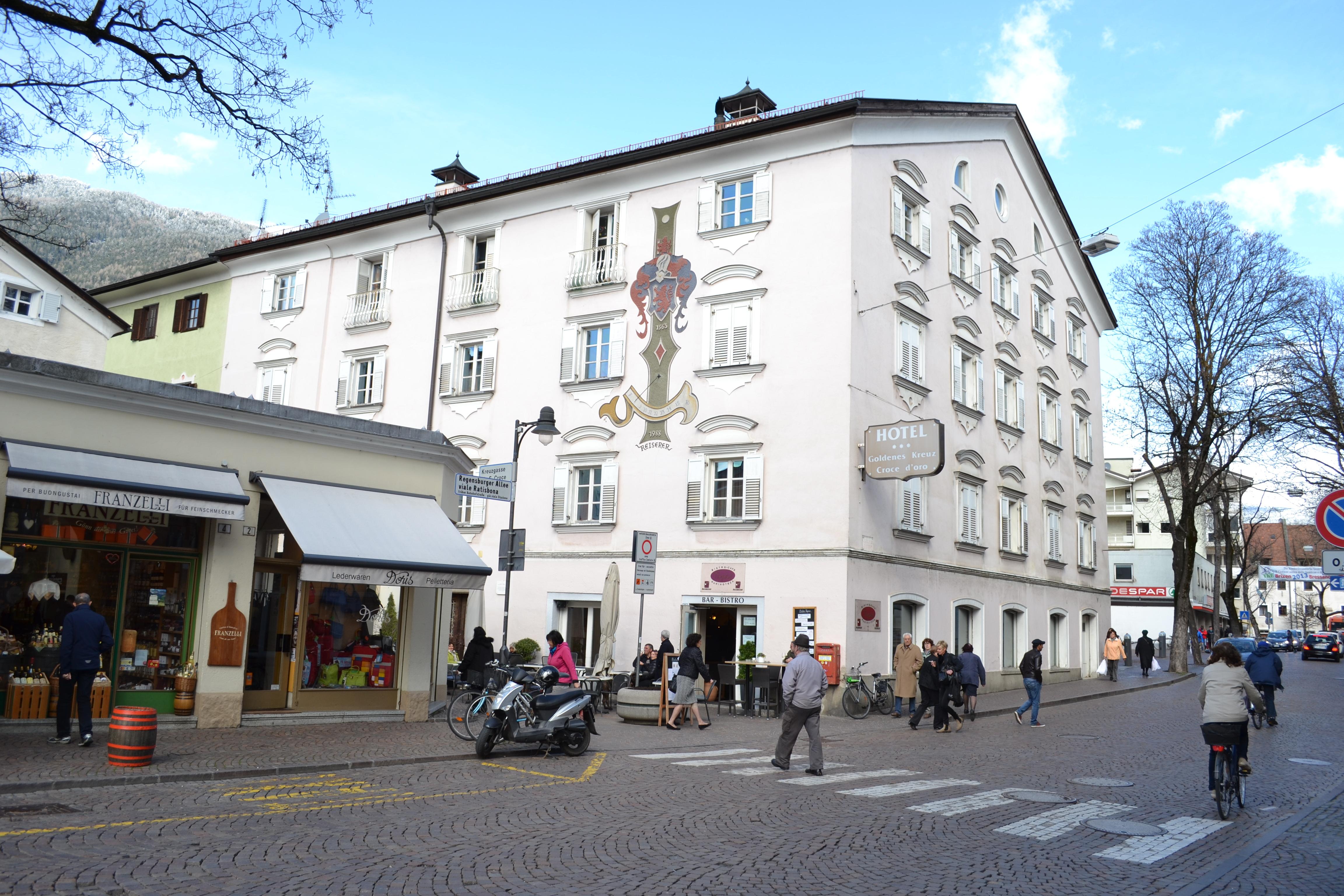 Hotel Goldenes Kreuz Regensburg Parken