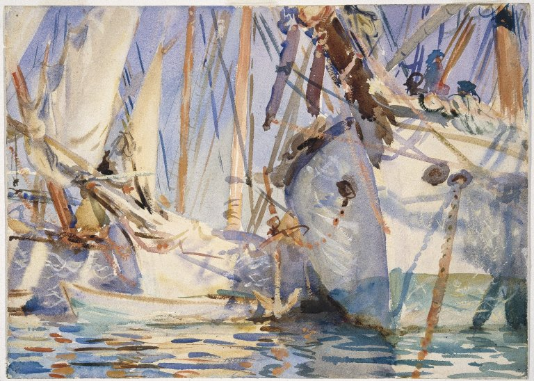 File:Brooklyn Museum - White Ships - John Singer Sargent.jpg