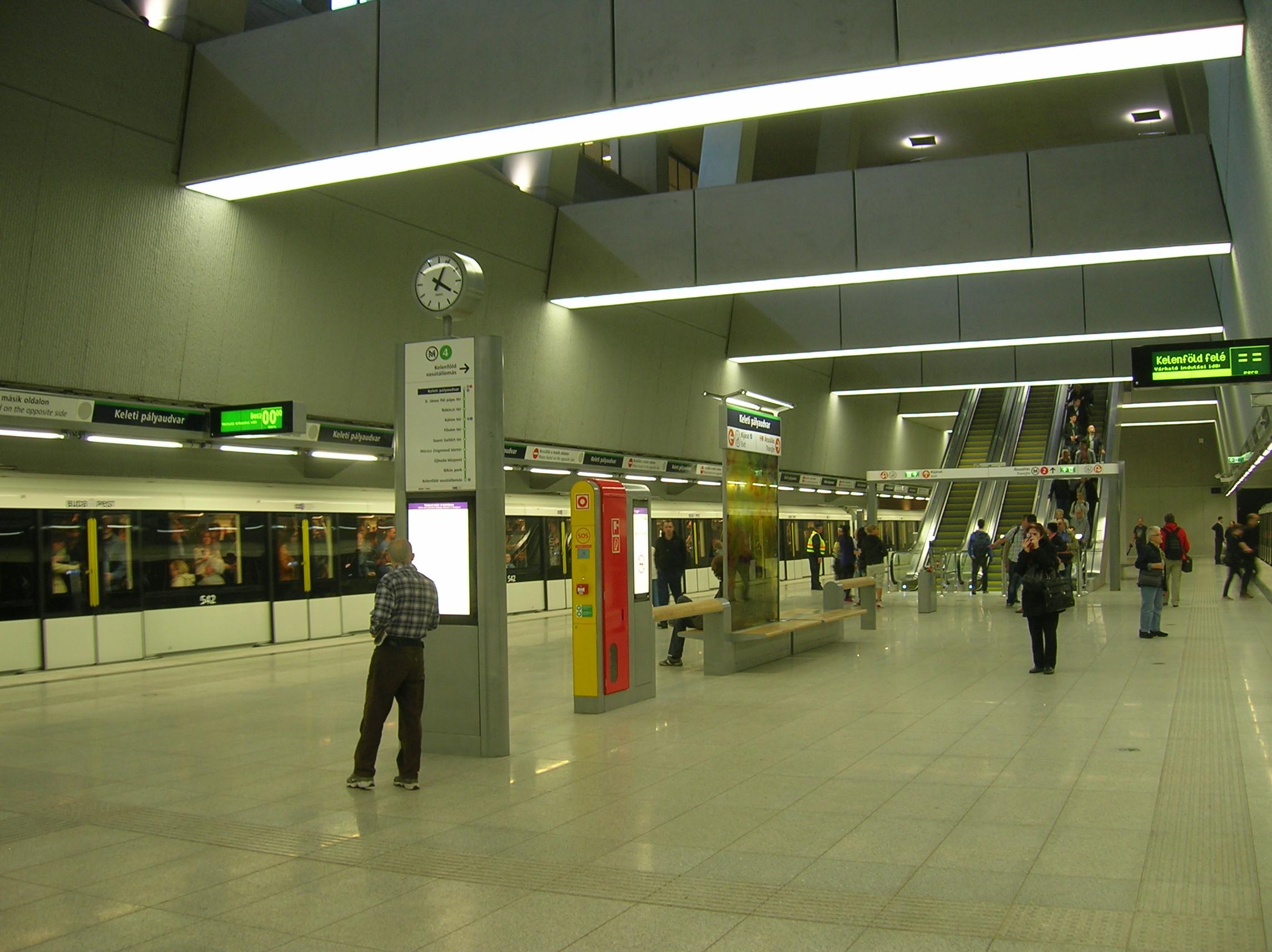 keleti p lyaudvar budapest metro wikiwand. Black Bedroom Furniture Sets. Home Design Ideas