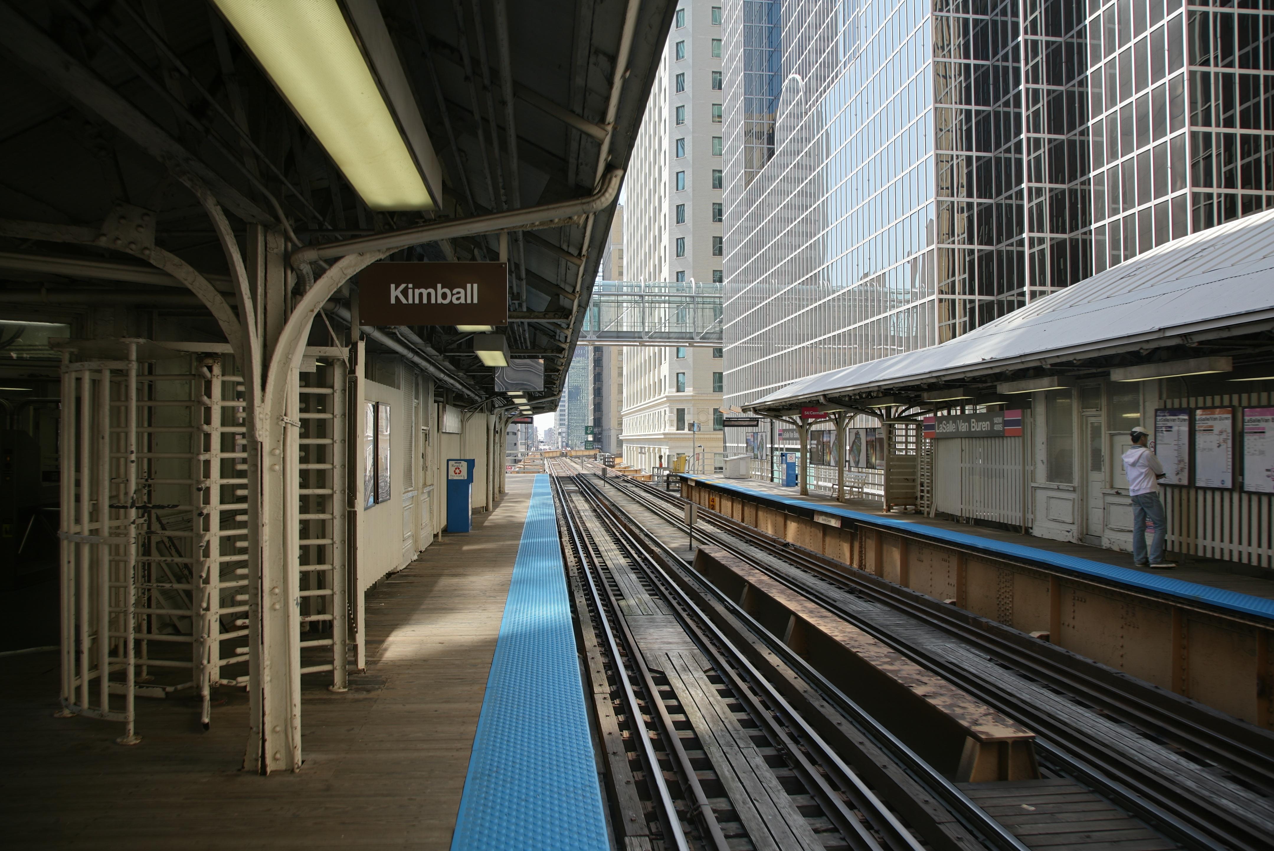 Image result for lasalle van buren cta station