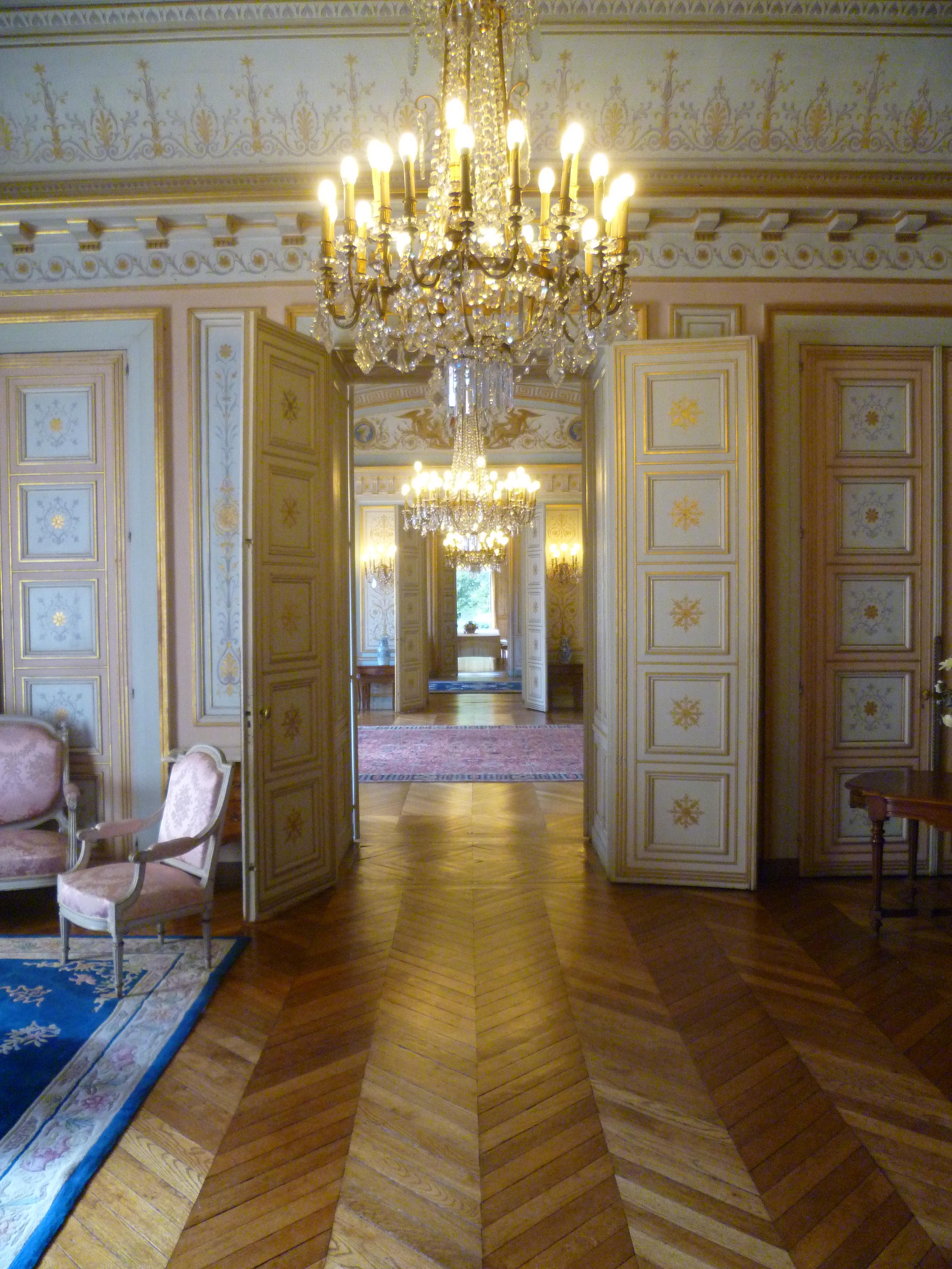File Caen Prefecture Salon Rose Enfilade Jpg Wikimedia