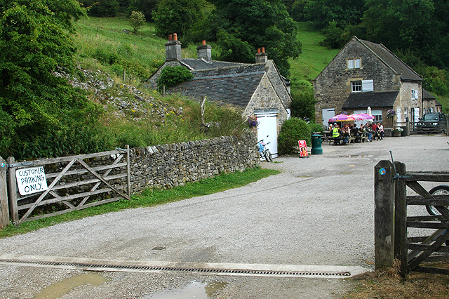 Cafe at Wetton Mill - geograph.org.uk - 1408817