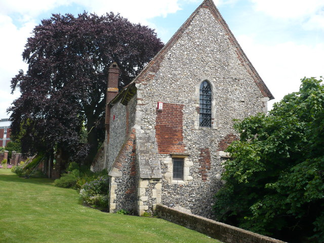 Greyfriars Chapel in Canterbury