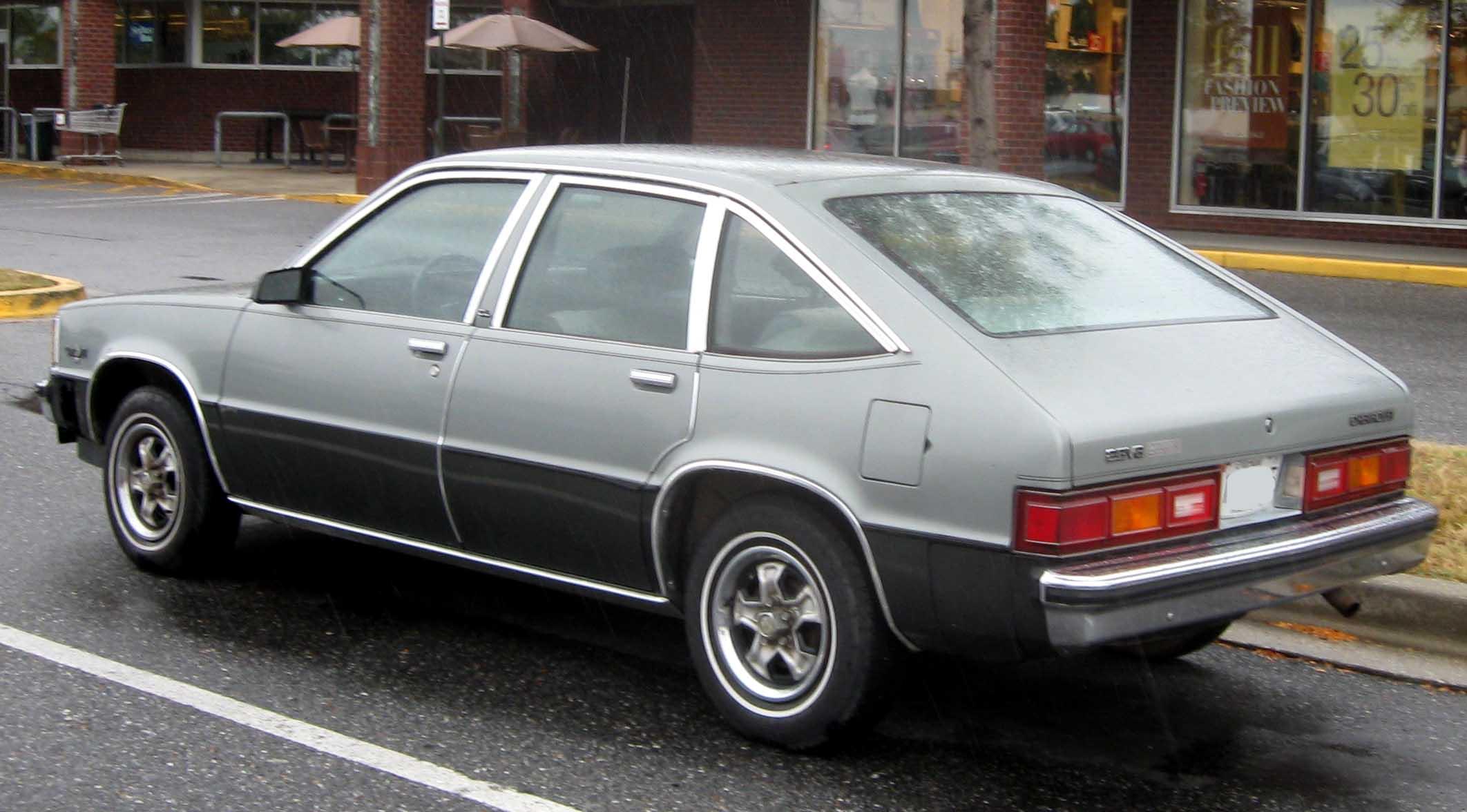 Chevrolet_citationon 1980 Chevrolet Malibu