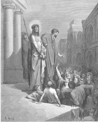 사형 선고를 받으신 예수님 (귀스타브 도레, Gustave Dore, 1866년)