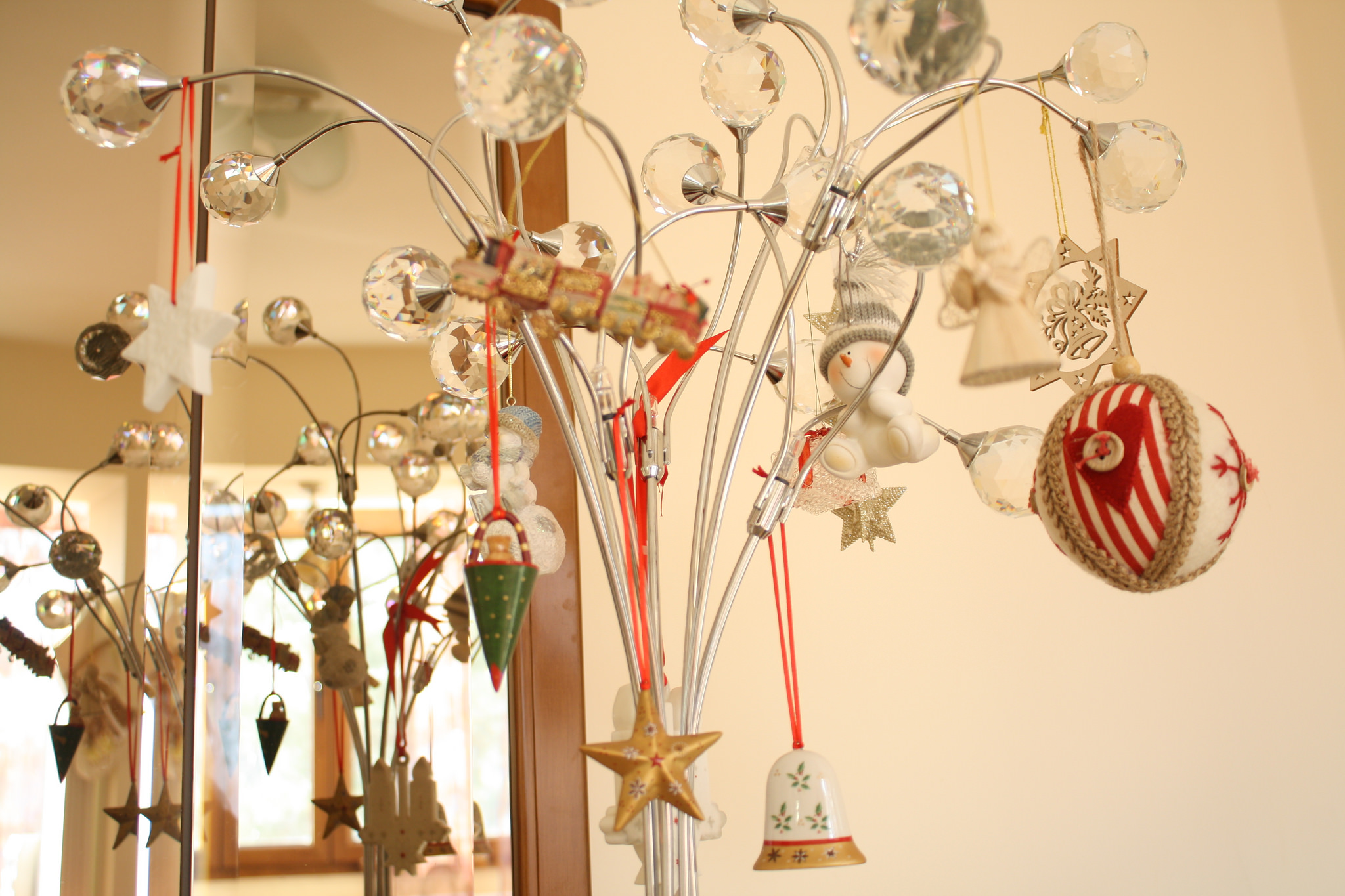 File christmas decorations in a private home for Christmas decorations