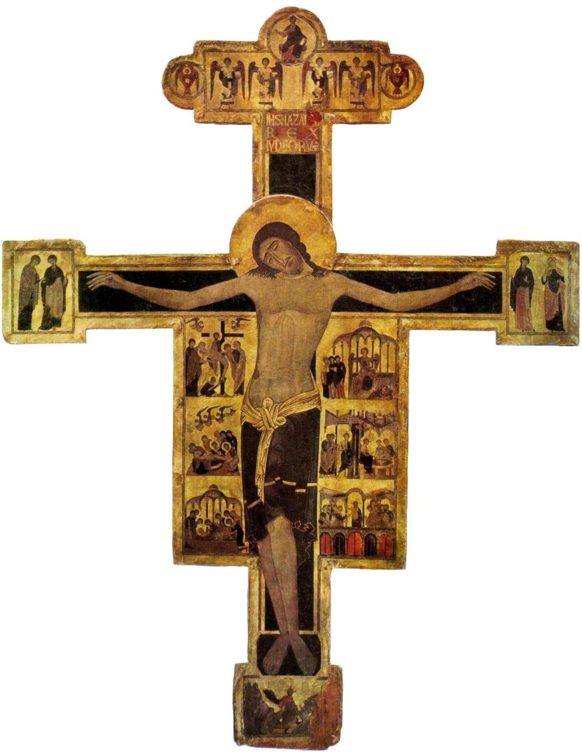 Византийский мастер Распятия из Пизы. ок. 1200г. Пиза, музей Сан Маттео.