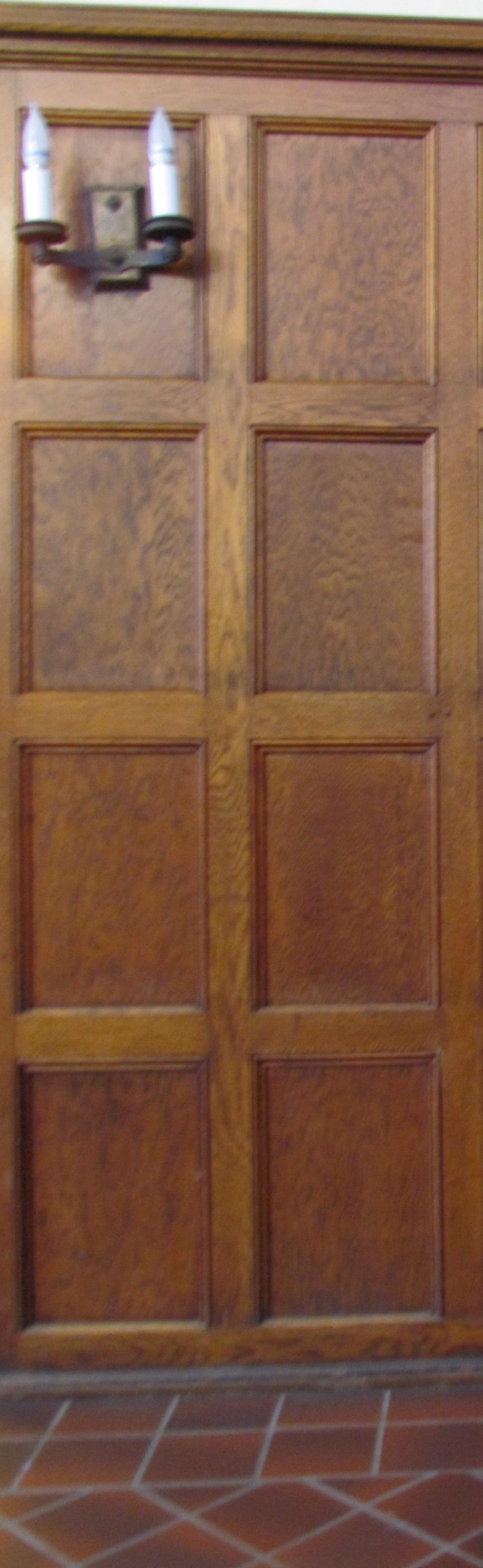 File Cushing House Wood Paneling Jpg Wikimedia Commons