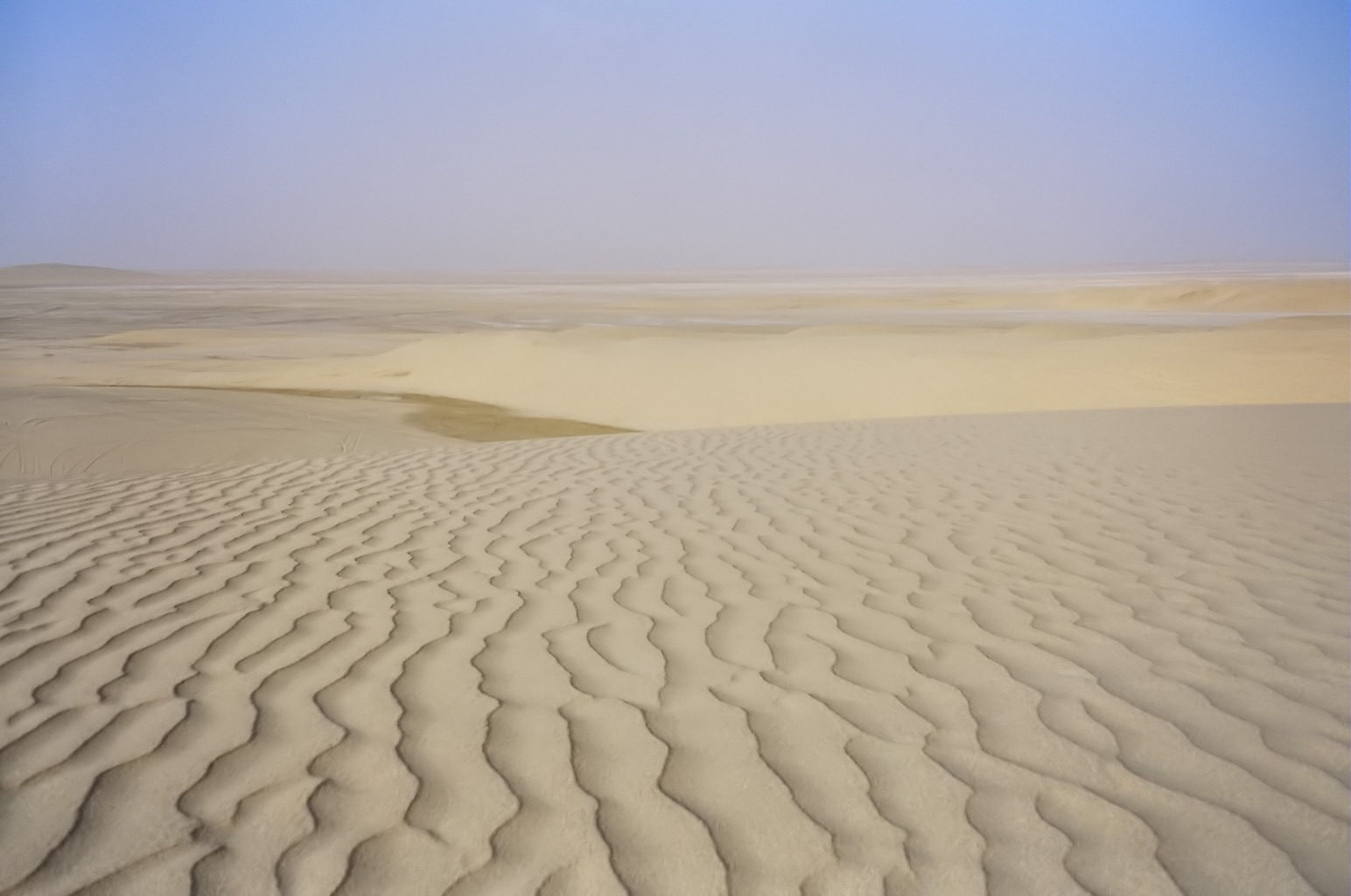 Desert in Qatar I took this photo myself.