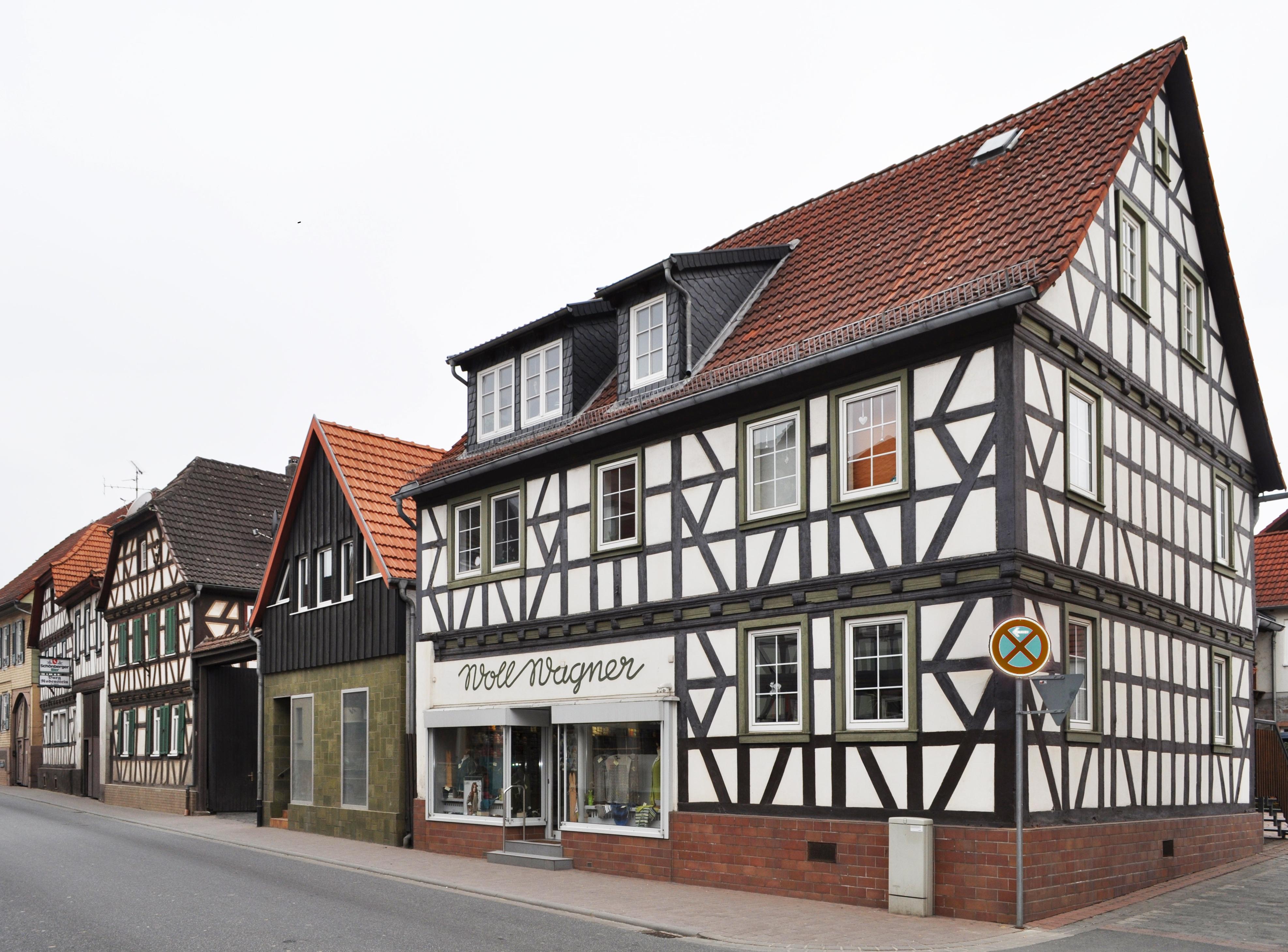 Häuser In file die alte häuser in gross bieberau jpg wikimedia commons