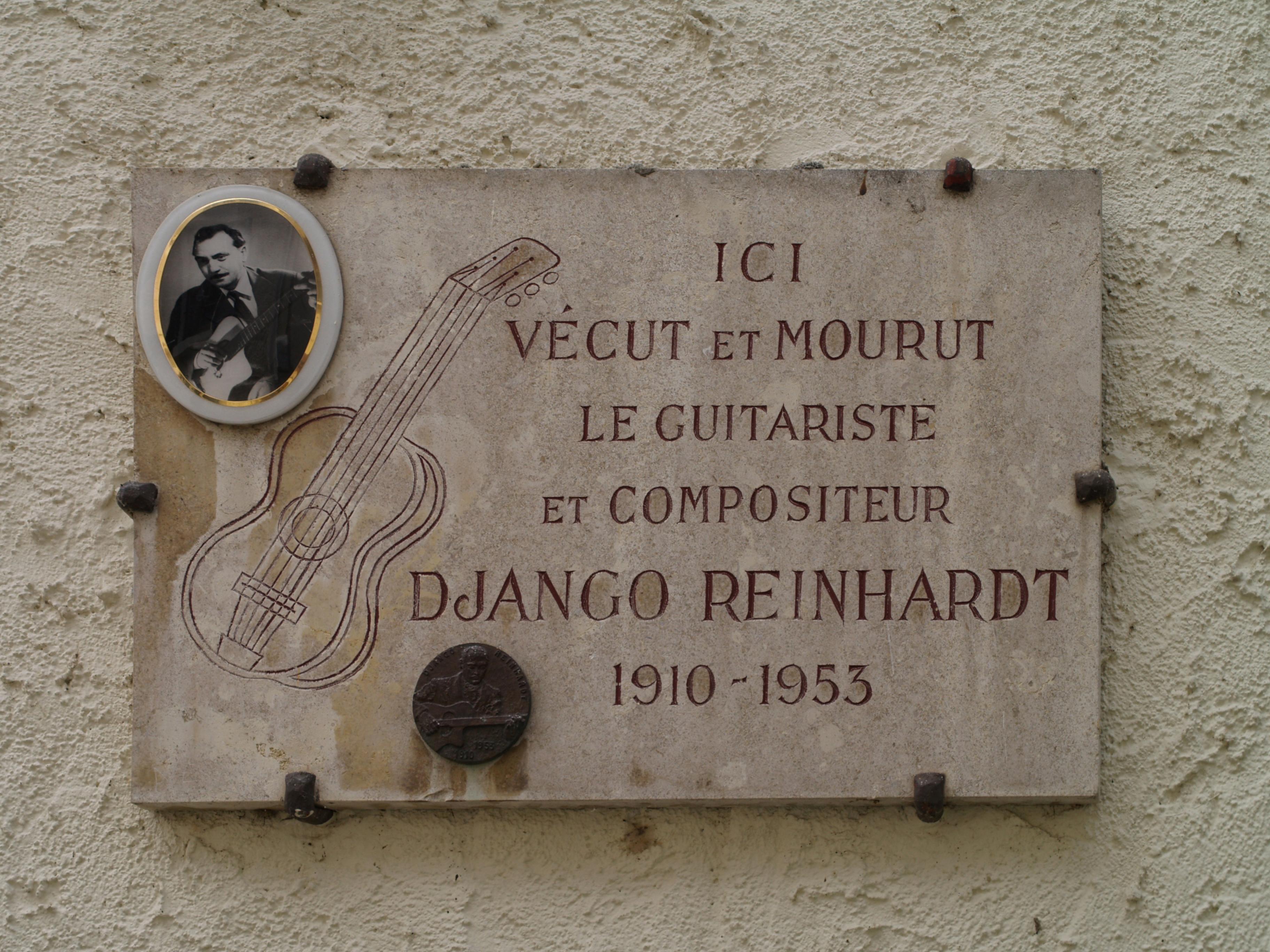 Django Reinhardt Fingers Missing