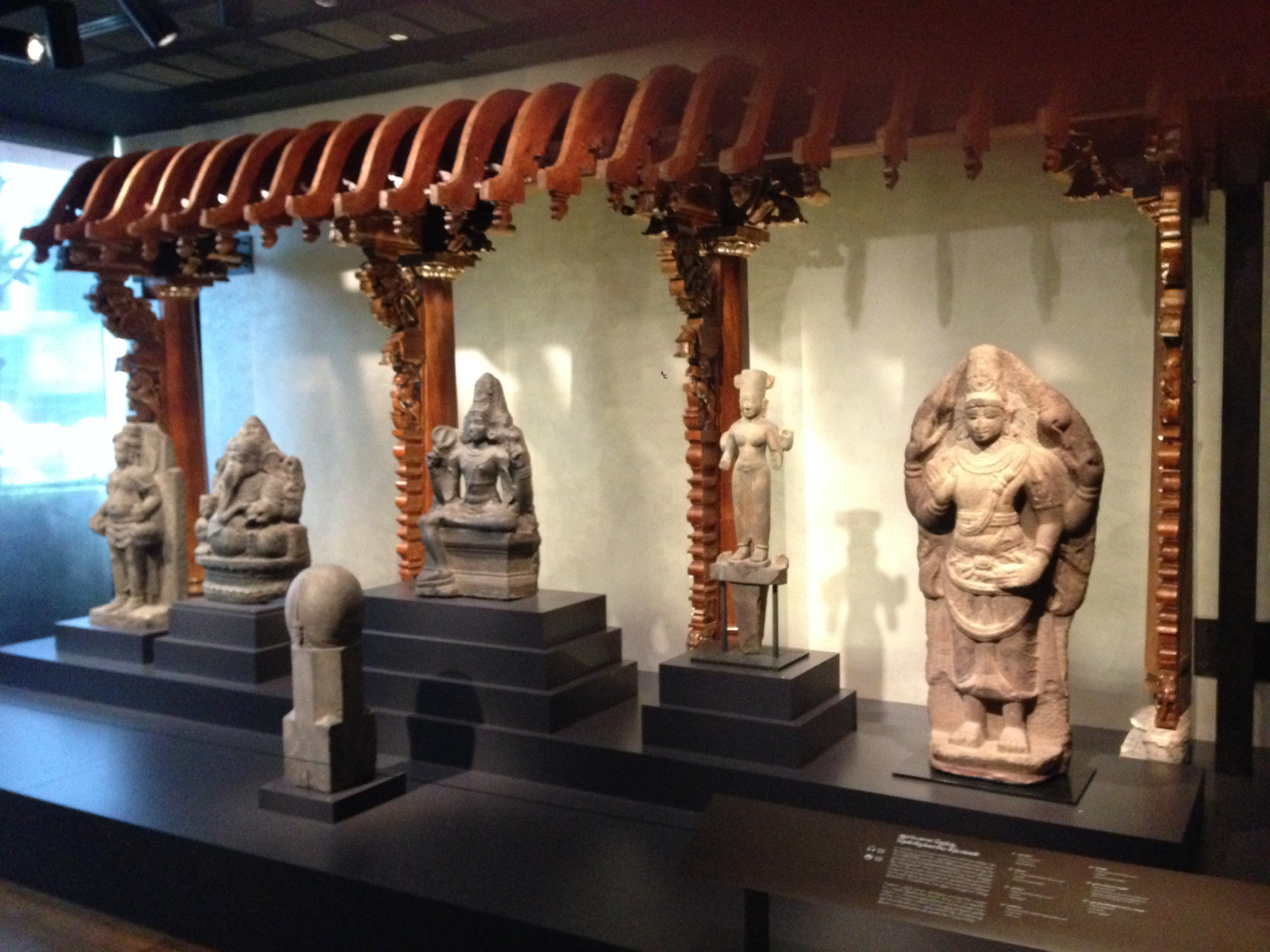 File early stone sculptures of hindu deities indian