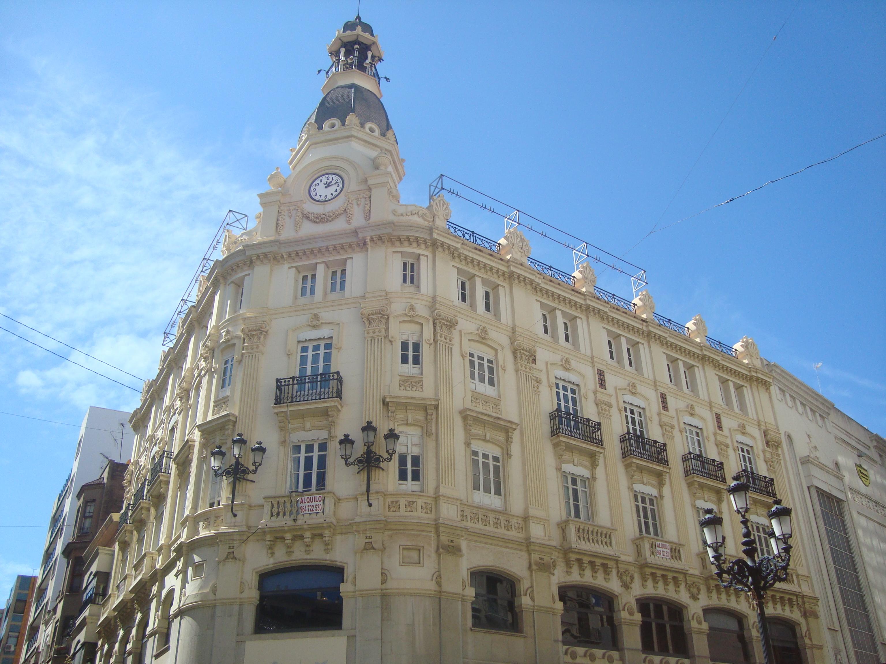 File Edificio Banco Valencia Plaza Puerta Del Sol