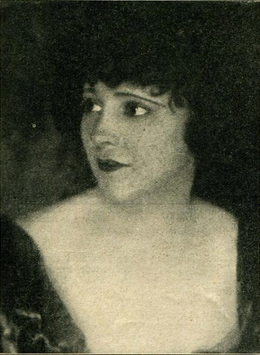 Edith Roberts, in Backbone (1923)