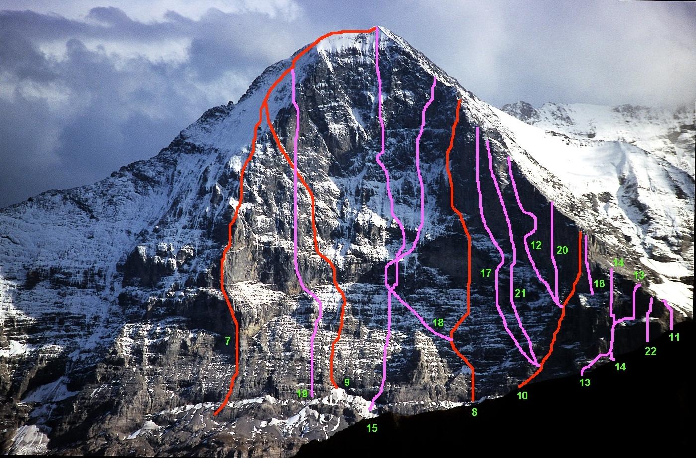 Kletterausrüstung Zermatt : Eiger nordwand u2013 wikipedia
