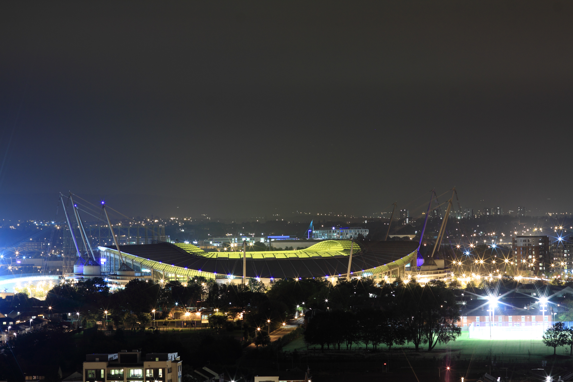 Description Etihad Stadium at night  October 2011 jpgEtihad Stadium At Night