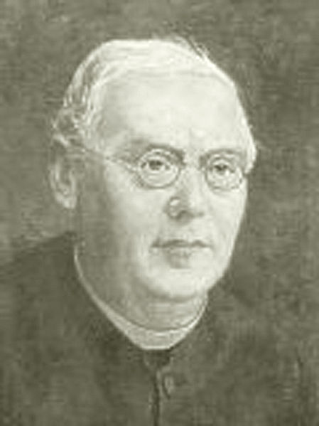 Depiction of Franz Xaver Haberl