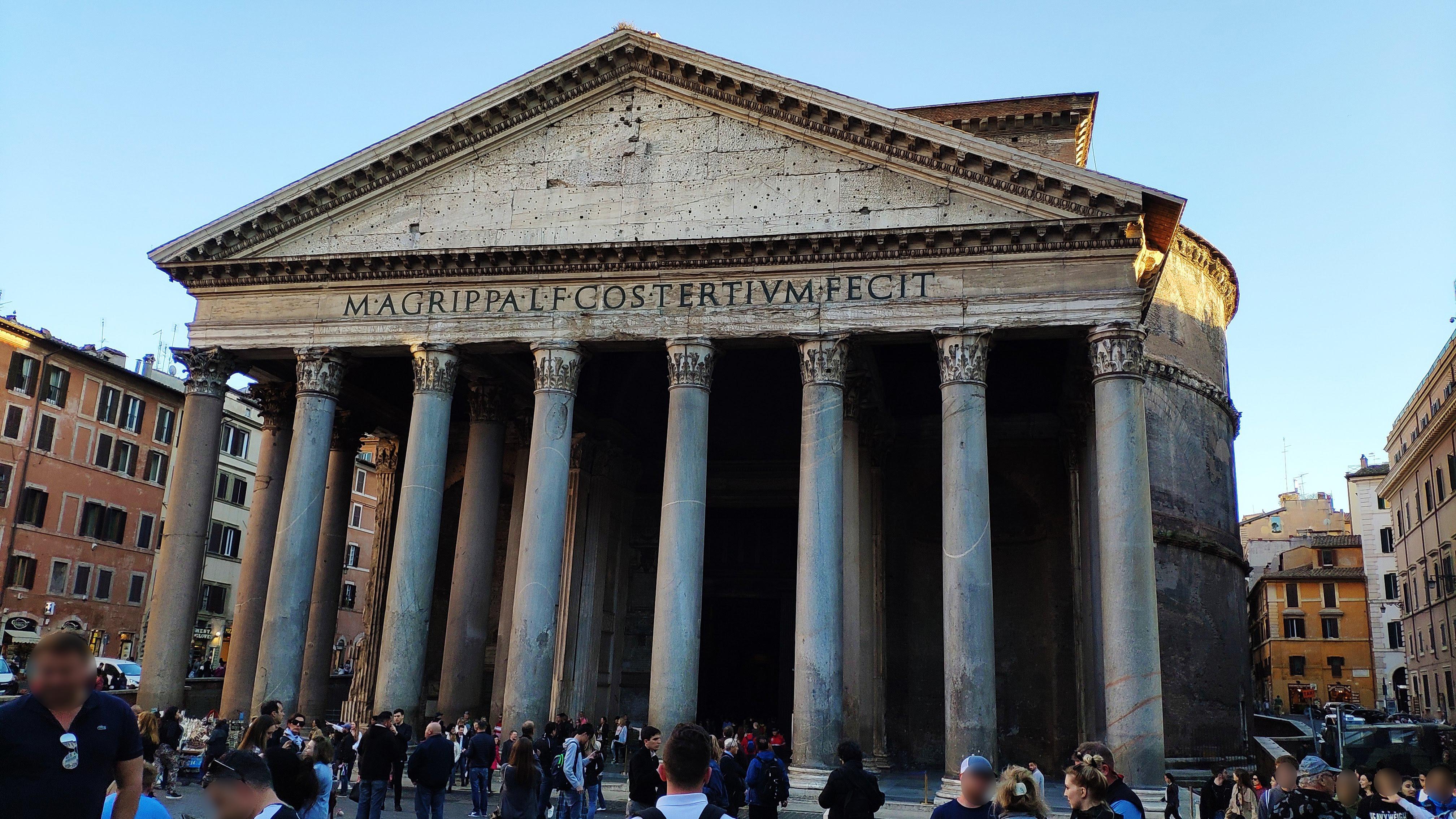 Verbazingwekkend Pantheon (Rome) - Wikipedia HU-71