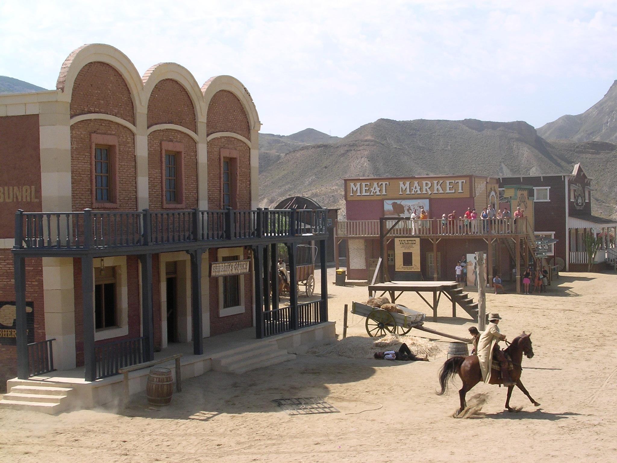 Depiction of Spaghetti western