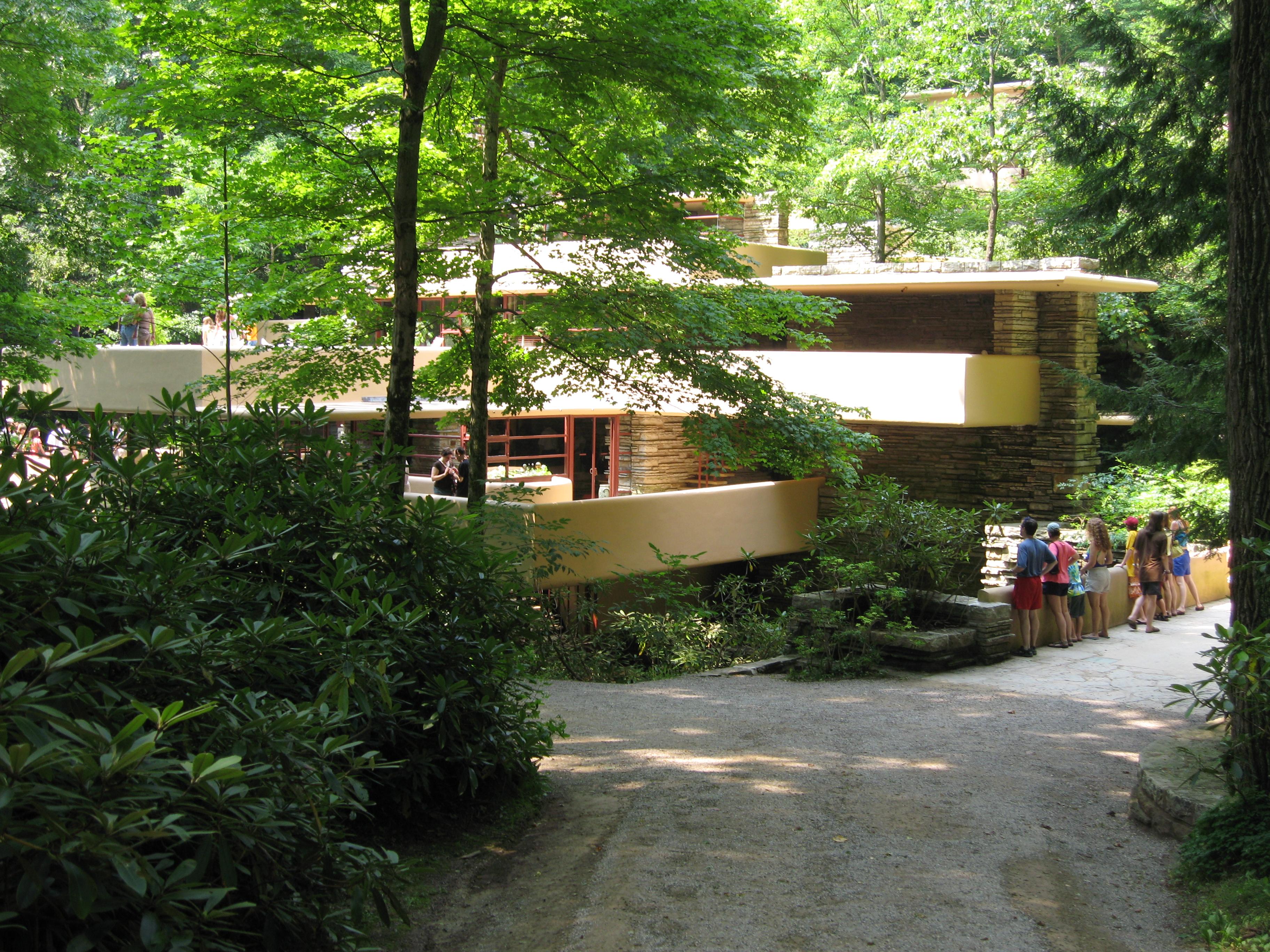 File wikimedia commons - La maison sur la cascade frank lloyd wright ...