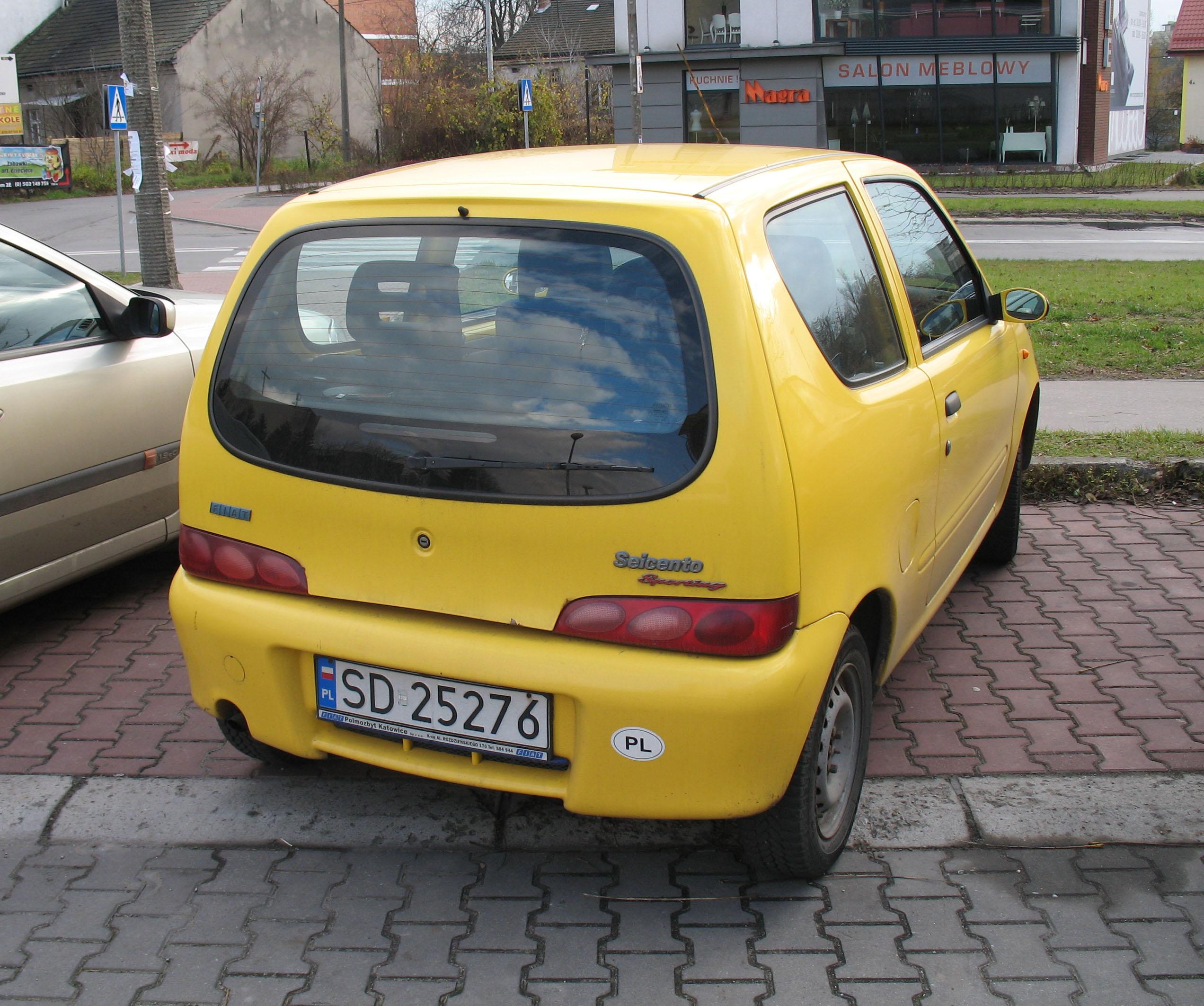File Fiat Seicento Sporting Azory Rear Jpg