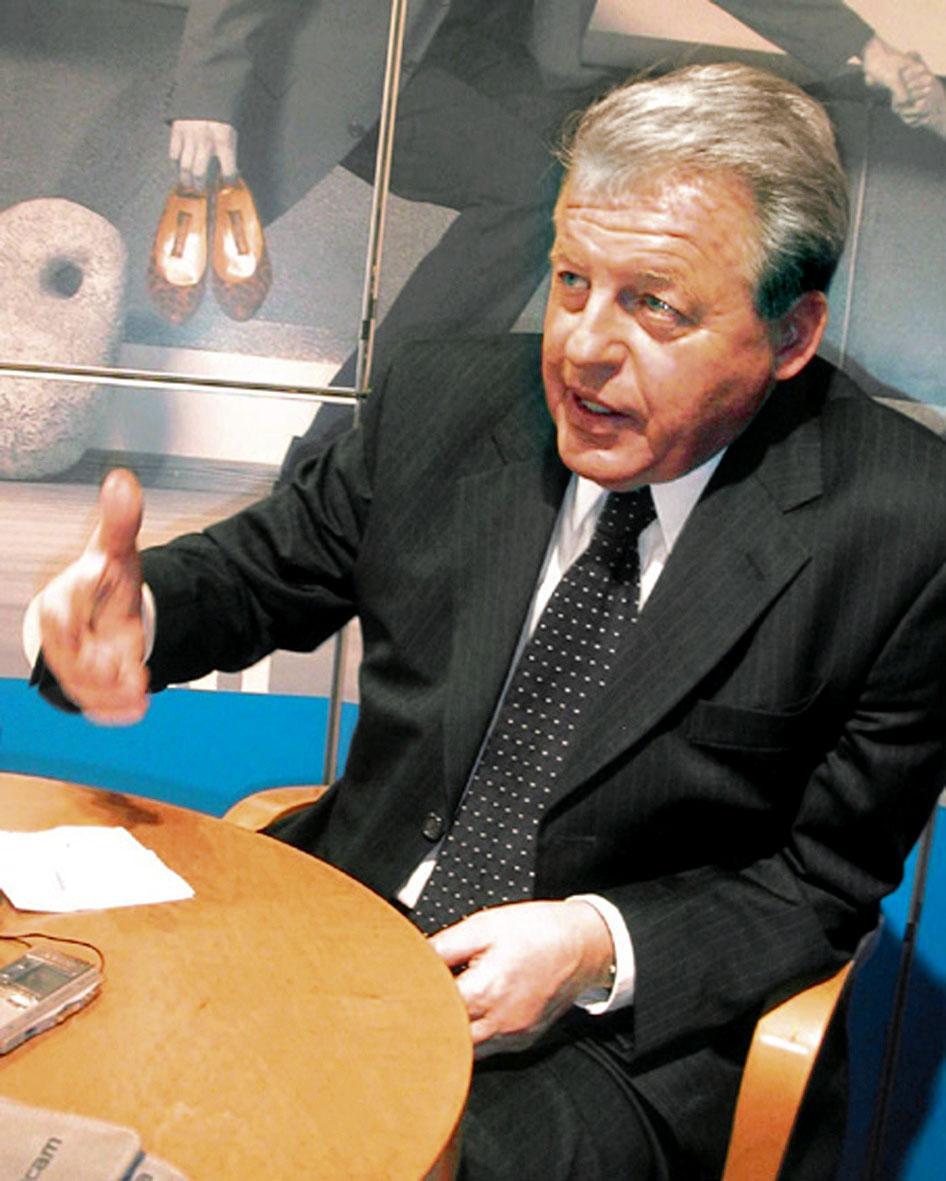 Franz Vranitzky, SPÖ-Bundeskanzler 1986–1997, von Medien als Teflon-Kanzler bezeichnet