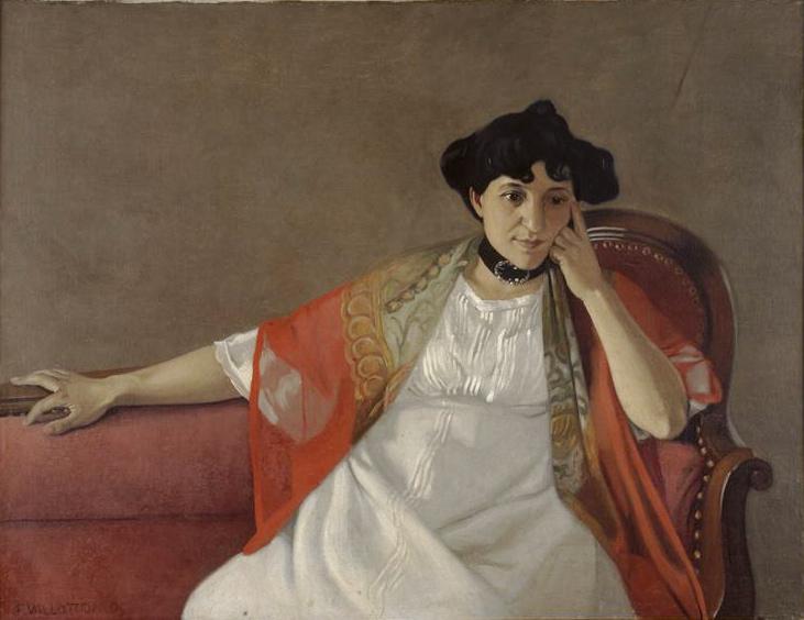 Portrait de Gabrielle Vallotton