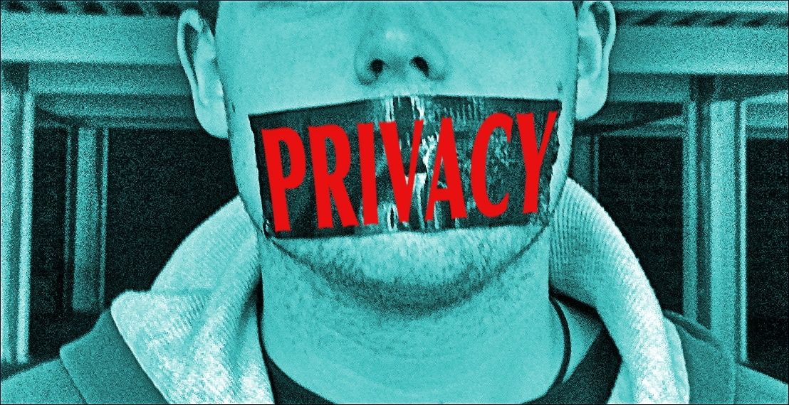Gagged by Privacy - Quelle: WikiCommons