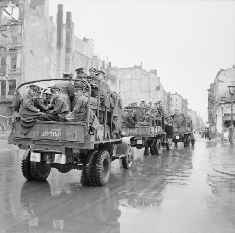 Russian troops in Berlin