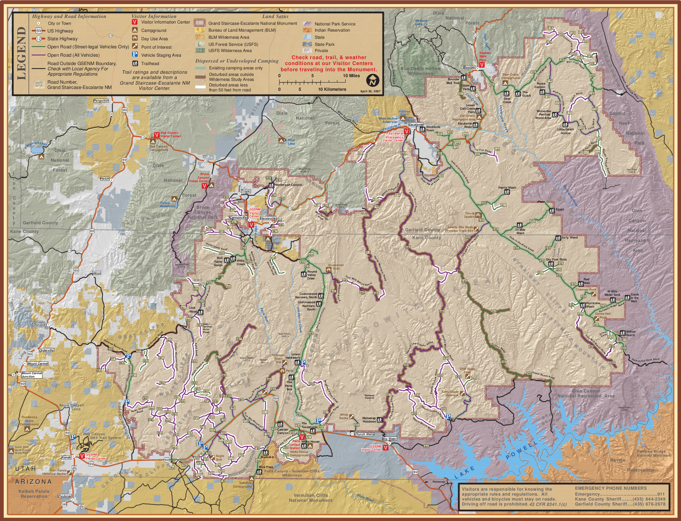 File Grand Staircase Escalante National Monument Map Jpg