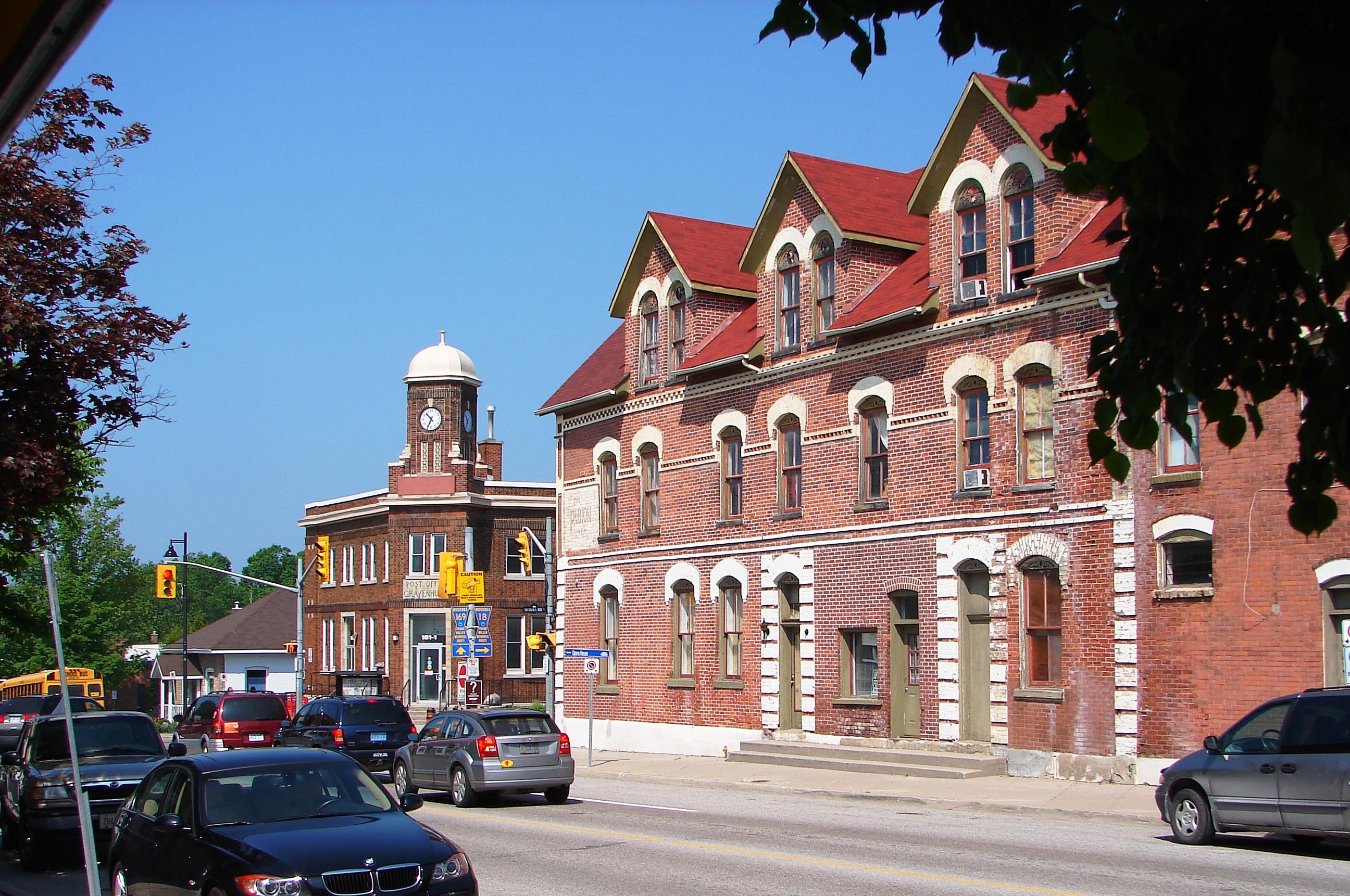 Gravenhurst Main street