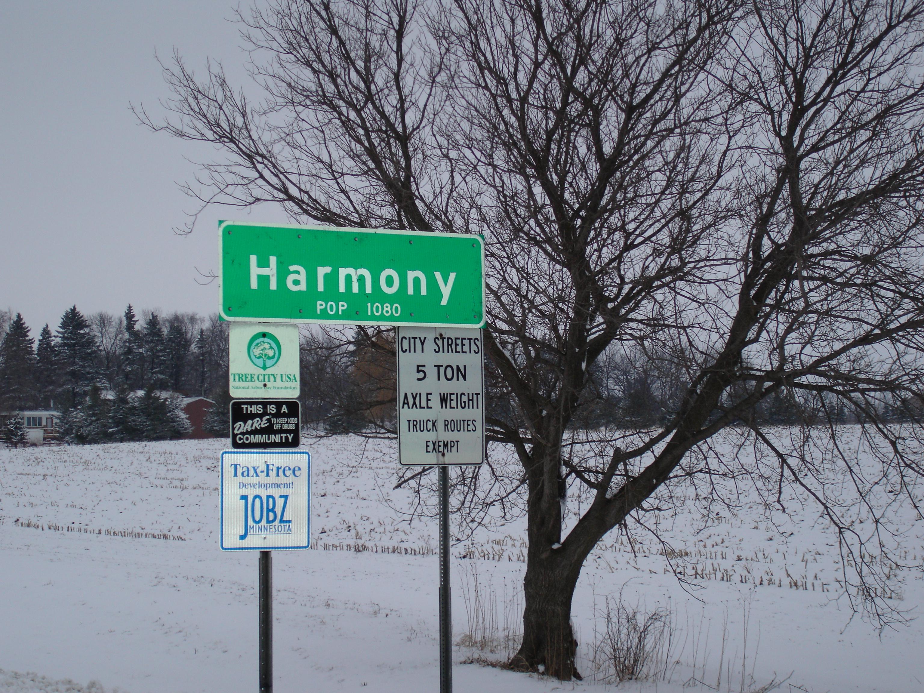 harmony date