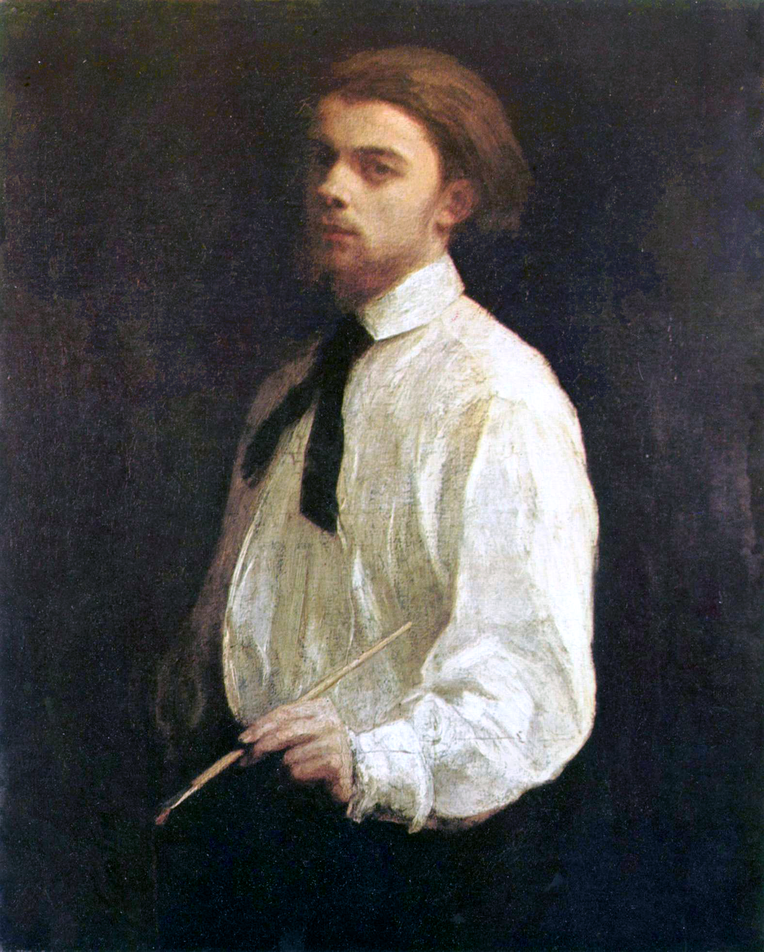 Henri Fantin-Latour, Self-portrait (1859), [[Museum of Grenoble
