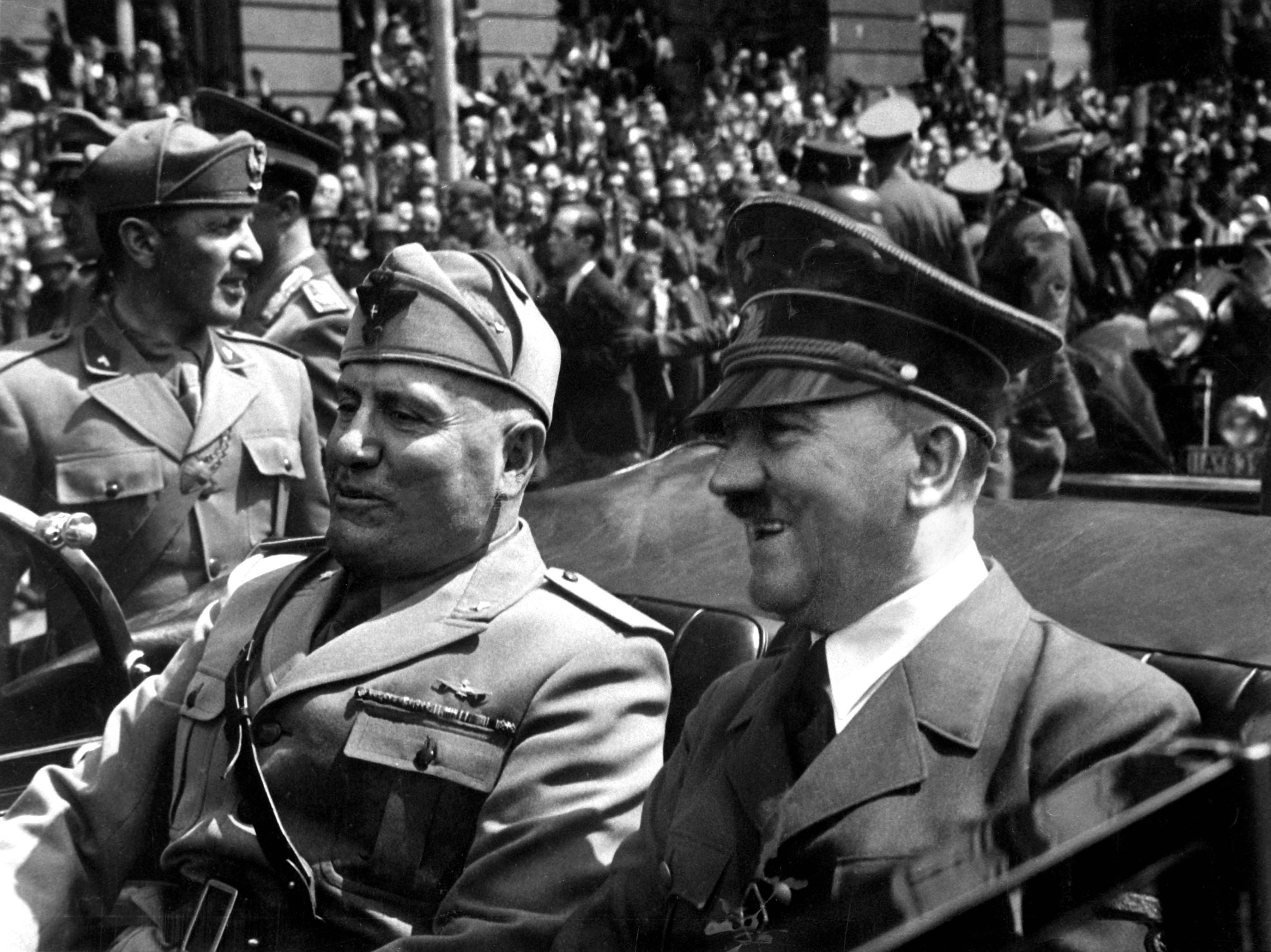 Hitler and Mussolini June 1940 - WINTER OF OUR DISCONTENT MEETS FYRE FESTIVAL