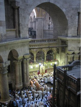 The Holy Sepulchre Church: Anastasis. Jerusale...
