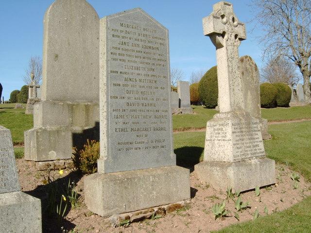 File:J. M. Barrie's Grave - geograph.org.uk - 393060.jpg