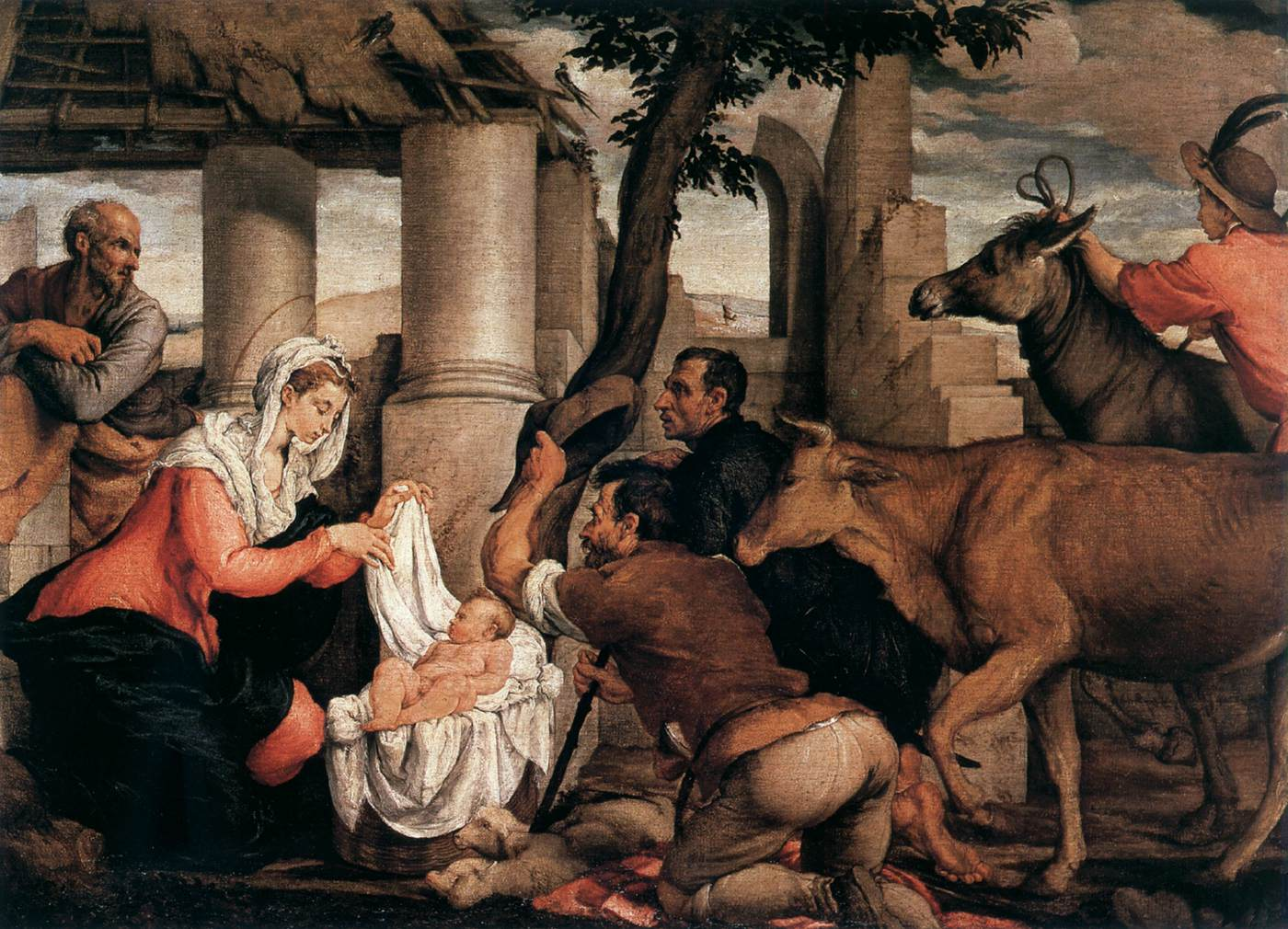 https://upload.wikimedia.org/wikipedia/commons/f/f5/Jacopo_bassano_adoration_of_the_shepherds.jpg