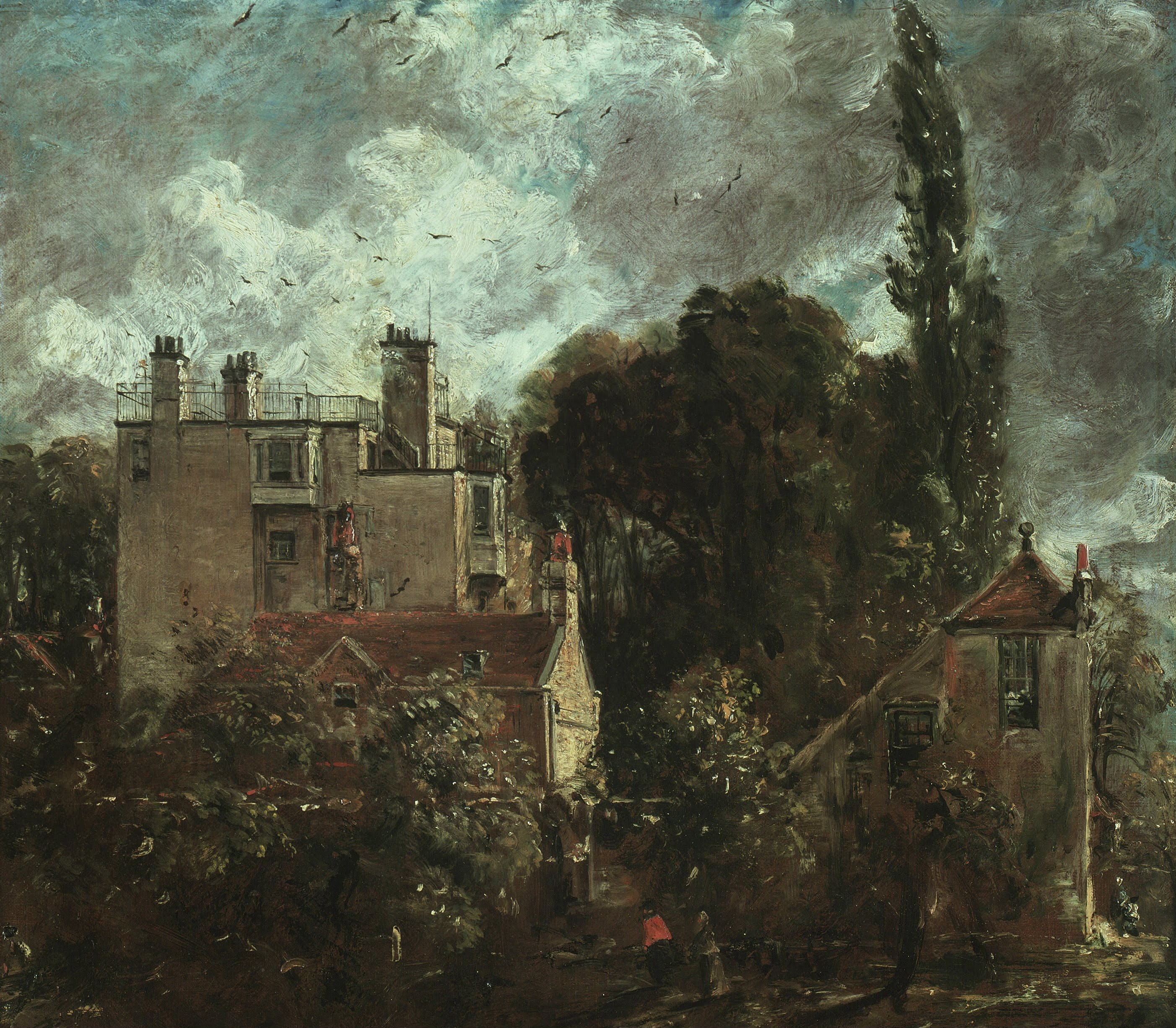 File john constable the grove or the admiral 39 s house in for The grove house