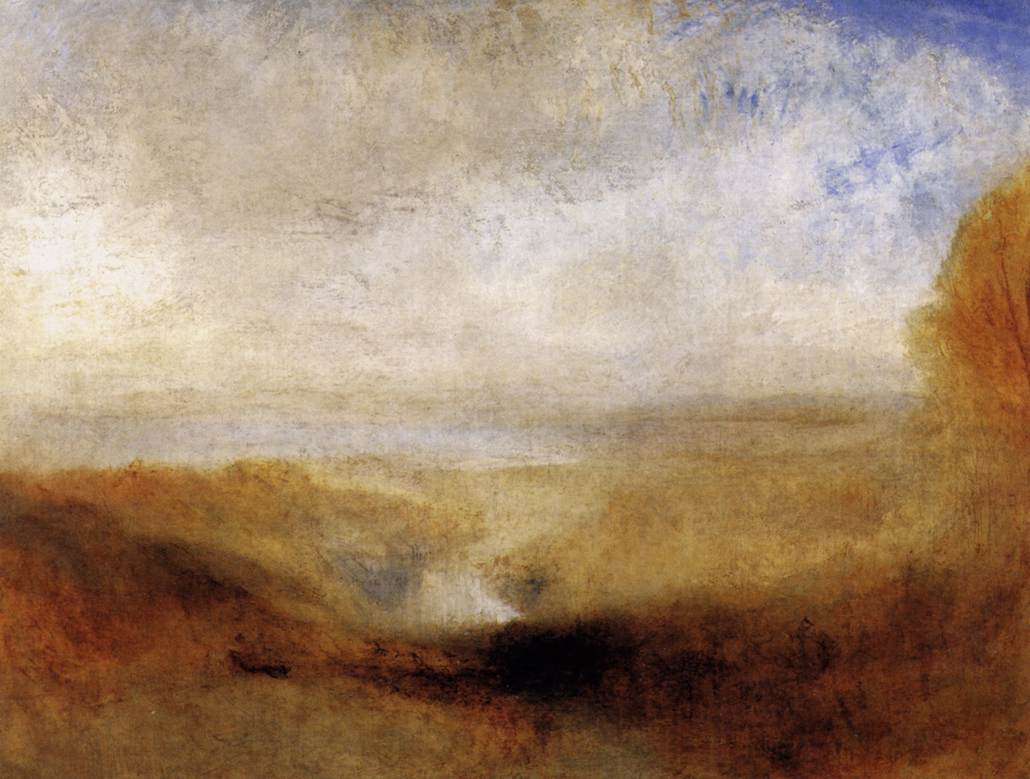 Attractive File:Joseph Mallord William Turner   Landscape With A River And A Bay In The
