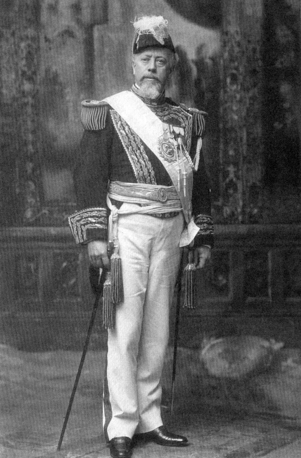 Depiction of Julio Argentino Roca
