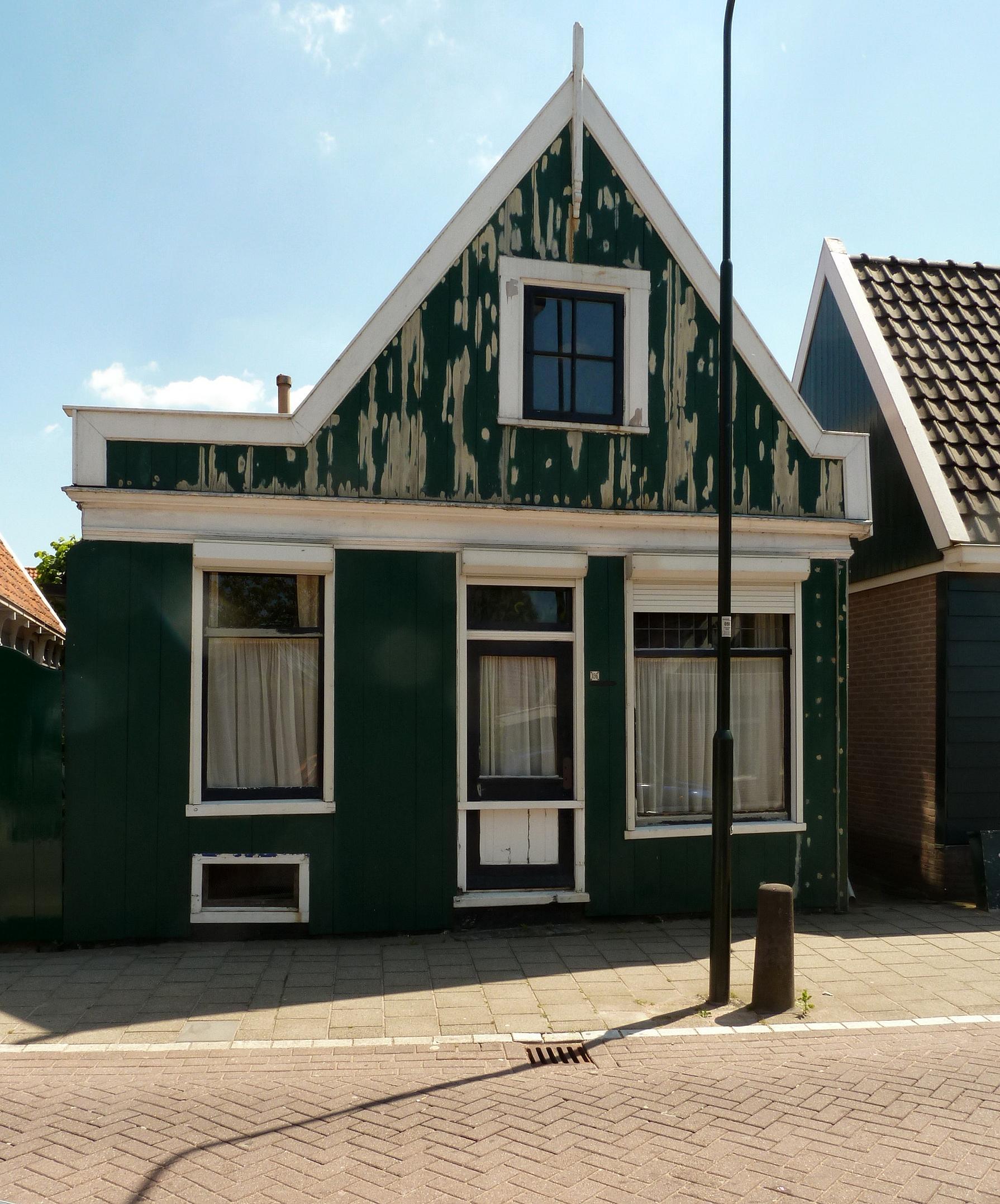 Houten huis in krommenie monument - Houten huis ...