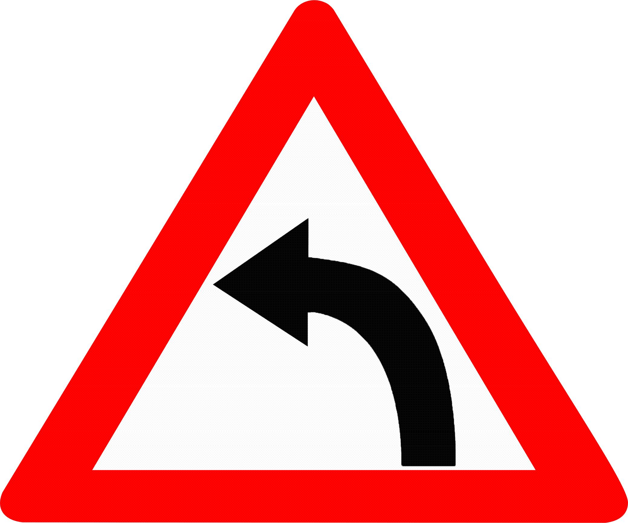 Left Hand Image File:left Hand Curve Sign