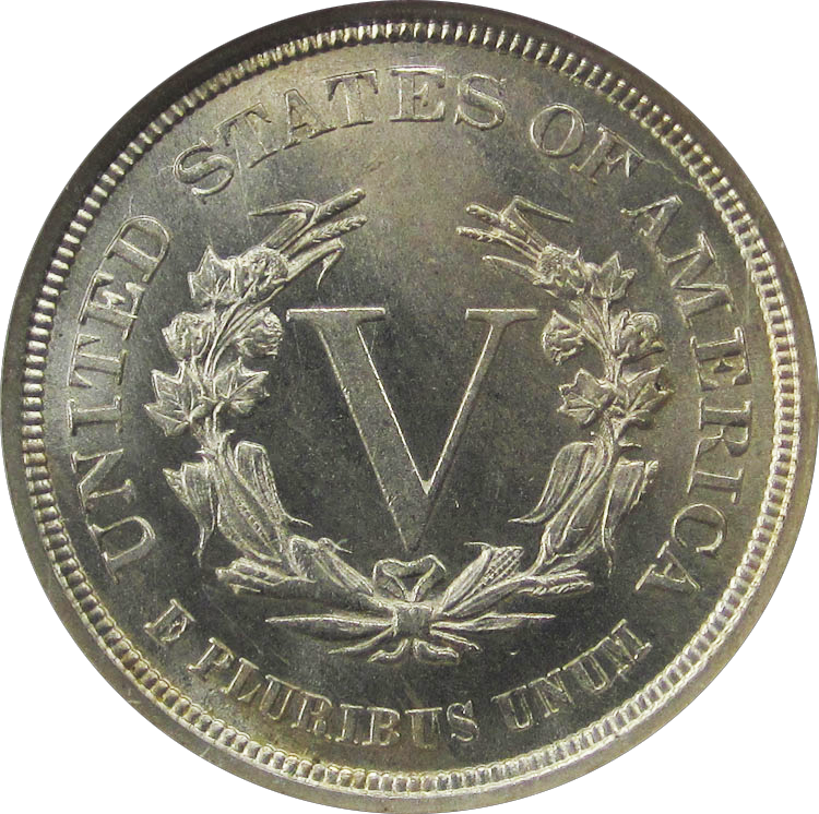 File Liberty Head Nickel 1883 Nocents Reverse Png