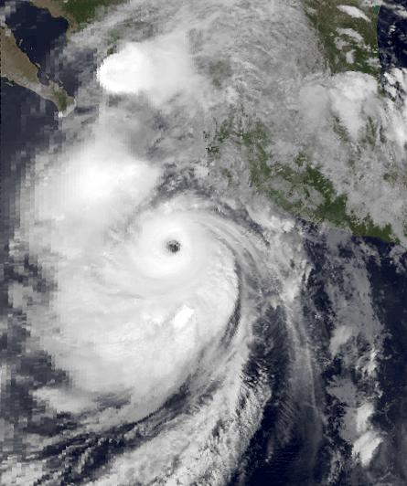 Hurricane Lidia  1993