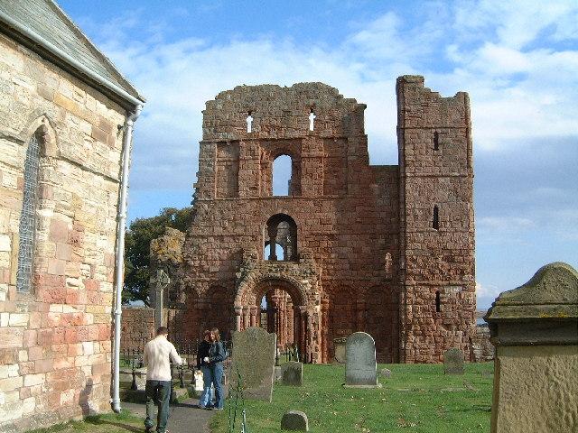 Lindisfarne Priory - geograph.org.uk - 70694