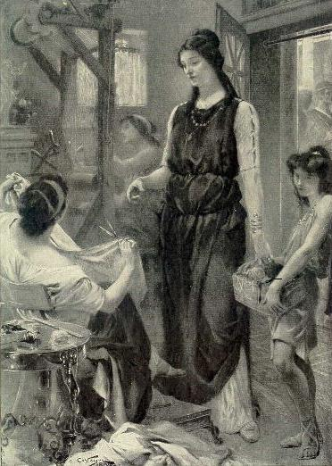 File:Livia, the wife of Augustus, superintending.jpg