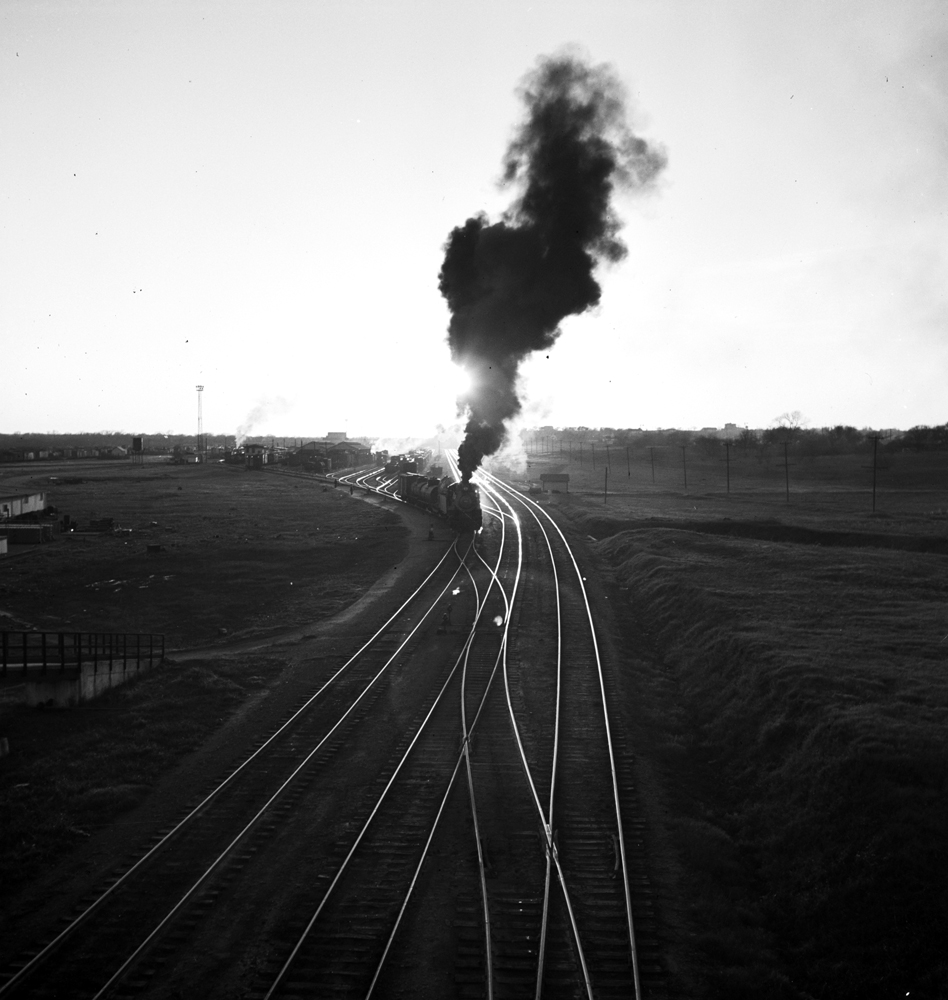 File:Locomotive 493, Lancaster Yard, Texas And Pacific