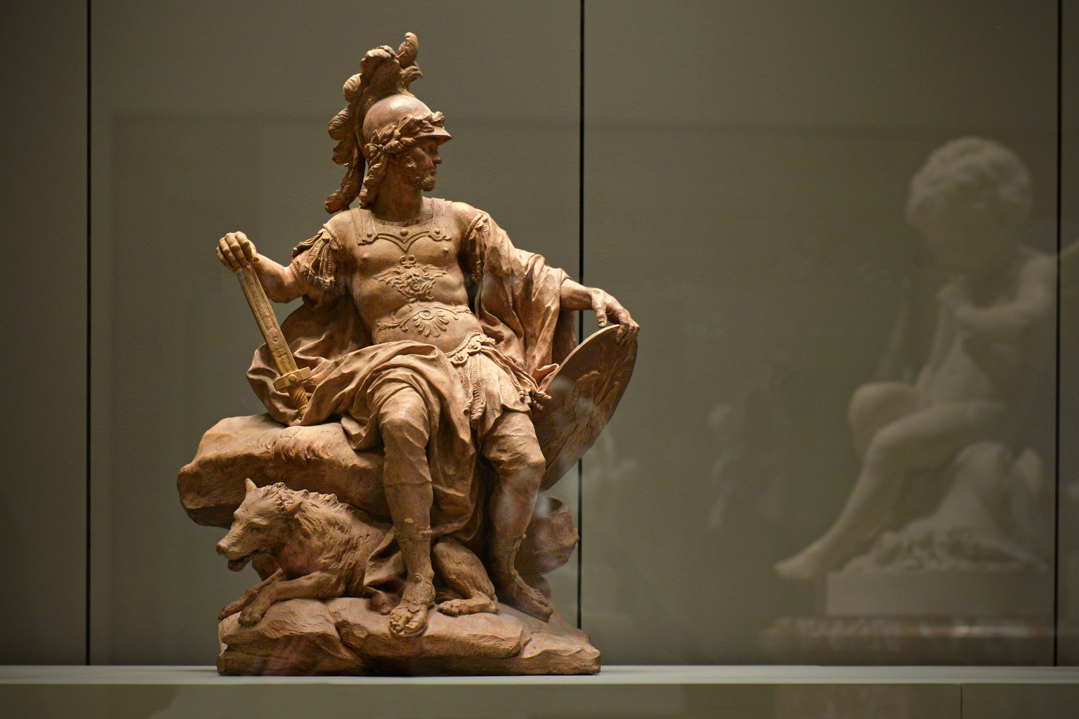 An image of the god Mars from the Louvre.