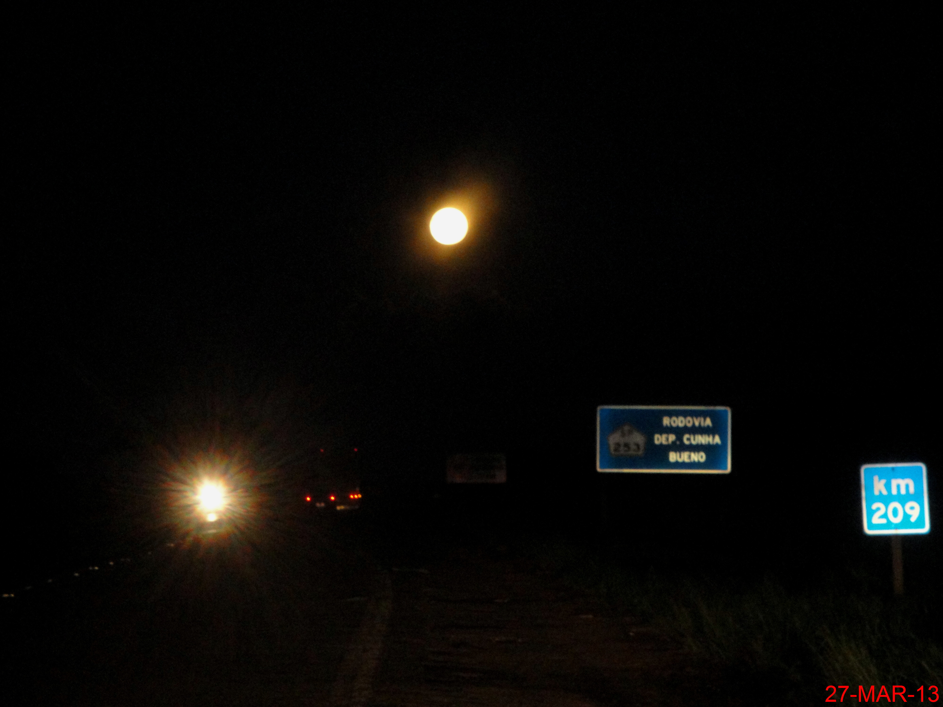 File Lua Cheia Nascendo Na Rodovia Deputado Cunha Bueno Sp 253 Km
